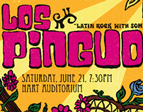 Los Pinguos Poster - BYU-Idaho Center Stage