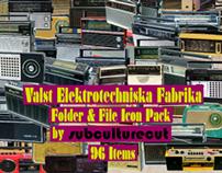 Valst Elektrotechniska Fabrika - Radio Icon Pack