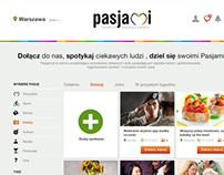 pasjami.pl - spotkania napędzane pasjami!