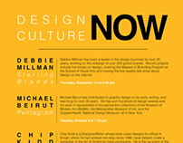 "MoMA ""Design Culture Now"" Poster Series"