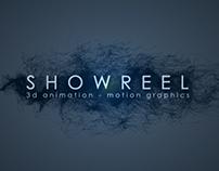 SHOWREEL - 3d - motion