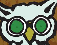 Blind Owl Clothing Line Logo