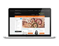 """Magento E-commerce Template """"dariGO"""""""