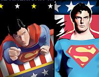 Superman Fan Art by K. Fairbanks