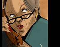 """The Shot"" Web comic"