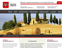 Moscow real estate agency, working with Toscana region.