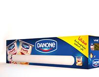 Danone Creamy Multi-Packaging