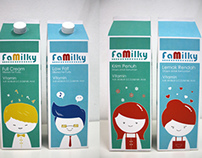 Milk Packaging Design