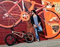 Industrial BMX Ride with rider Hatem Nsour