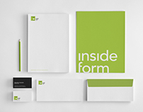 Brand identity for Inside Form