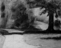 Charcoal Drawings at RISD
