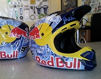 work: RED BULL SUPERCROSS HELMET 1/4
