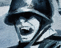 MURAL - Narodowe Siły Zbrojne (Fallen Troops)