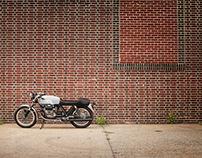 Moto Guzzi 850T Sport conversion