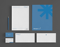 Brand identity for Helicopter View