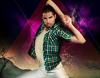 Afiches Bailarin
