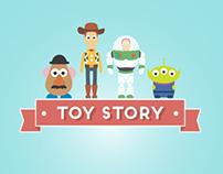 MINIMAL - Pixar & Disney characters