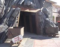 Mineshaft Entrance, Installation
