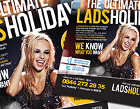 Advert Design for Lads Holiday