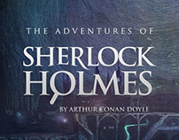 Interactive book «The adventures of Sherlock Holmes»