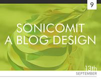 SonicomIT - A Blog Design