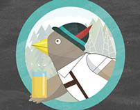 Kaw Bird Poster Series