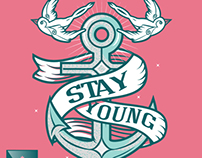 Stay Young: Anchor illustration