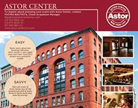 Astor Center Advertisements for BizBash
