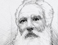 Sketch of Graham Bell
