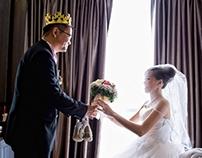 Wedding - Wee kian & Serlyn actual day weding