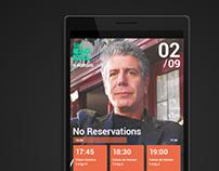 TV Listings App
