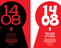 Minimal Horror & Comedy Movie Posters: 1408