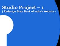 Redesign of SBI website