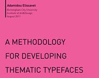 Thematic Typefaces
