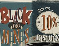 Black Top Mini's.