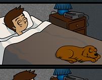 Sleeping with Doggies.