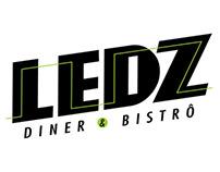 Branding Ledz Diner & Bistrô