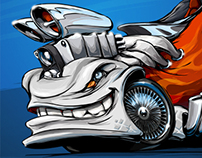 """""""Blower"""" beasted-up Shoe-car!"""