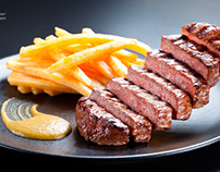 Lentrecote restaurant foodgraphy