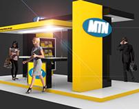 Exhibition Design: MTN / Blender 3D