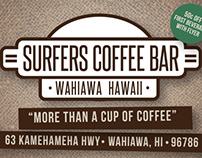Surfers Coffee Bar // Brand Identity and Promotion