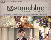 Stone Blue Productions // Bridal Guide Advertisement