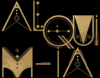 ALQUIMIA Animated Font