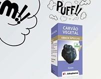 Press ads for Arkocápsulas