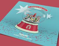 Nefertiti Jazz Club event booklet & poster