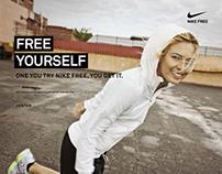Nike Free Yourself Dashboard