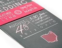 2012 Wedding Invitation