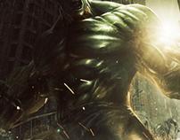 Incredible Hulk Poster