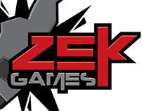 ZekGames - Logo Design