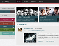 Netflix Rebrand : Website